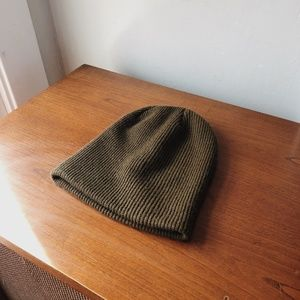 UO BDG Olive Beanie
